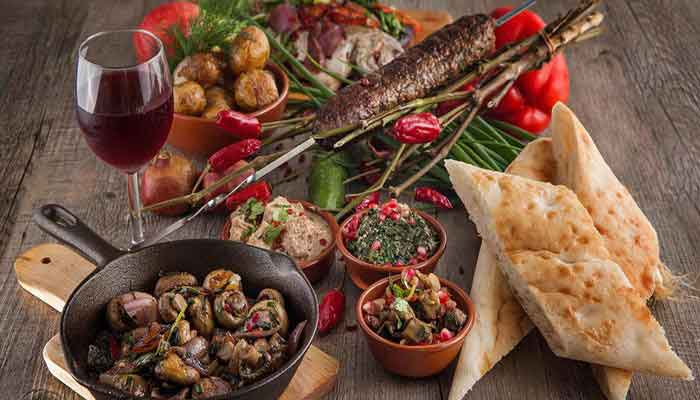 فرهنگ غذایی مردمان گرجستان