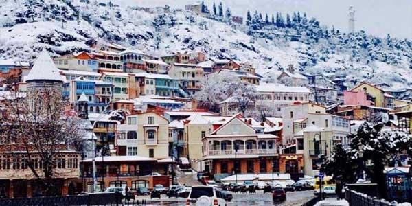 گرجستان در فصل زمستان